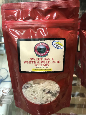 Sweet Basil White & Wild Rice soup mix