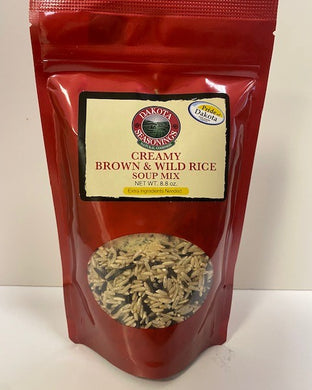 Dakota Seasonings Creamy Brown & Wild Rice soup mix