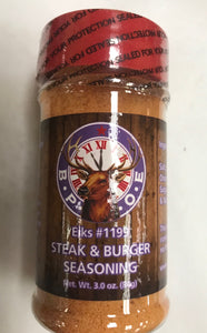 Elks 1199 Steak and Burger Seasoning