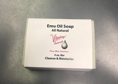 Emu Oil Soap 4oz