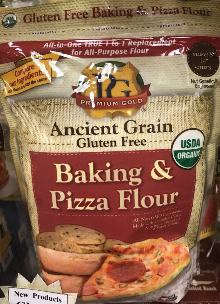 Gluten Free, Organic Baking and Pizza Flour  - 5 lb