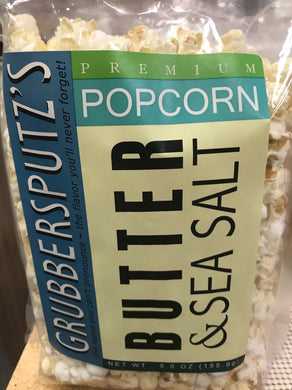 Grubbersputz's Butter & Sea Salt Popcorn