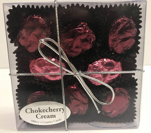 Chokecherry Cream Chocolates (8) Sampler