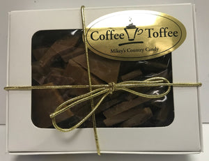 Coffee Toffee candy  4.5oz