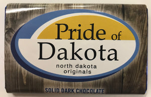 Pride of Dakota Dark Chocolate Bar