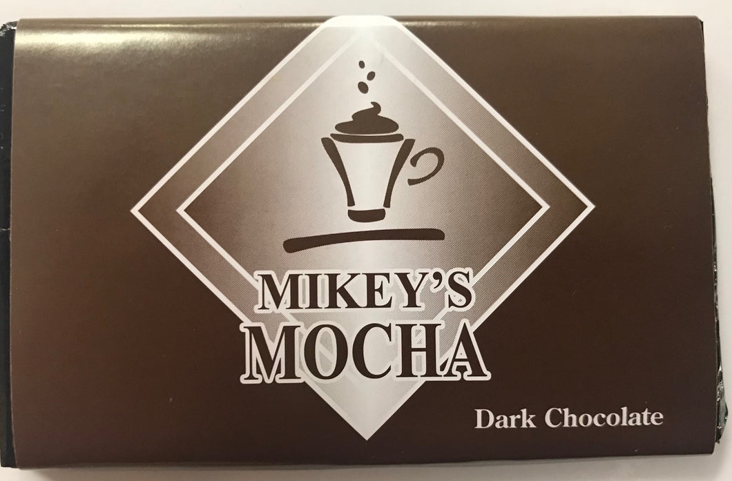 Mikey's Mocha Dark Chocolate Bar