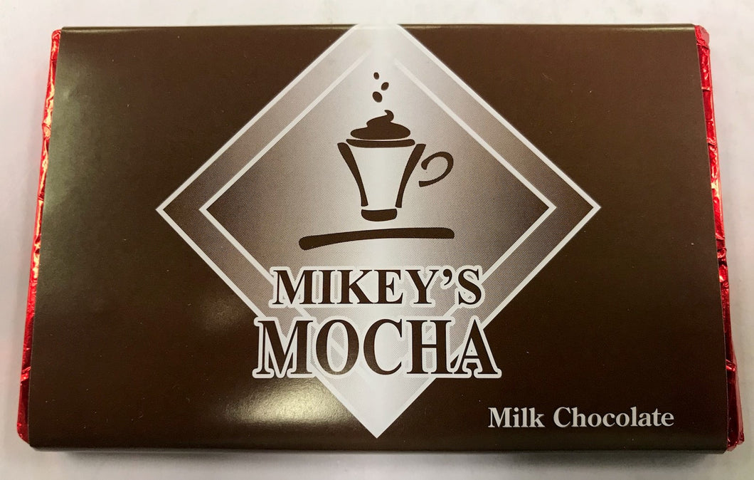 Mikey's Mocha Milk Chocolate Bar
