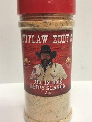 Outlaw Eddy's All-In-One Spicy Seasoning