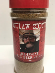 Outlaw Eddy's All-In-One Red Beer Spice