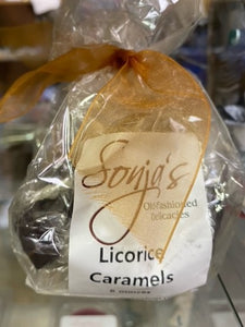 Sonja's Licorice Caramels candy