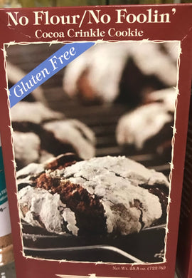 Gluten Free Cocoa Crinkle Cookies Mix