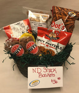 North Dakota Snack Basket / Box