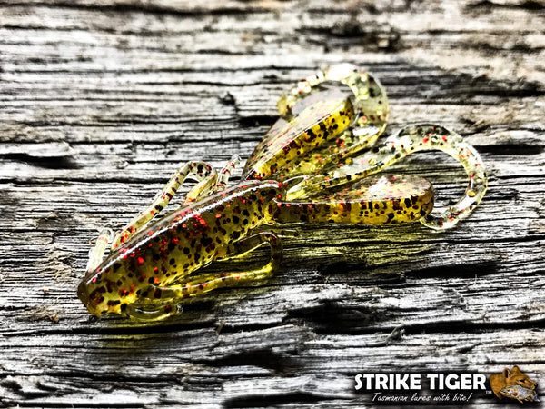 Strike Tiger 2 inch bug lava lime