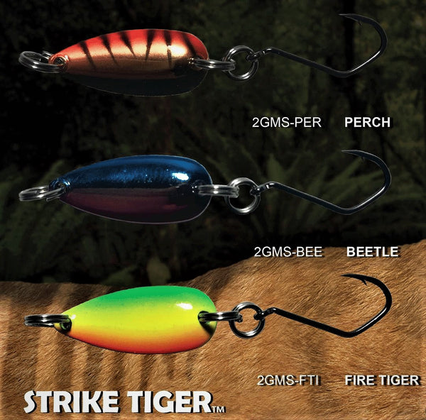 Strike Tiger micro spoon colours
