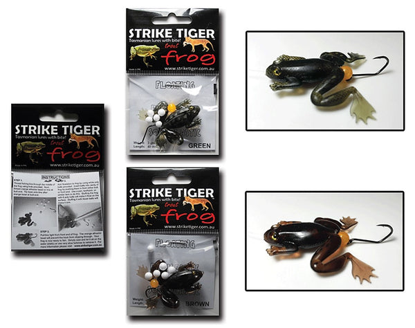 Strike Tiger Trout Frog