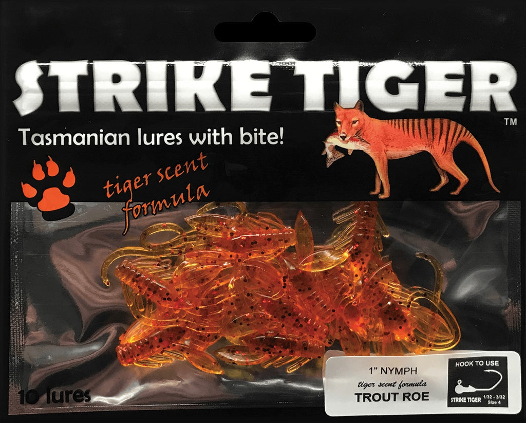 Strike Tiger 1 inch nymph TROUT ROE