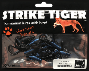 "Strike Tiger 1"" nymph BLUEBOTTLE"