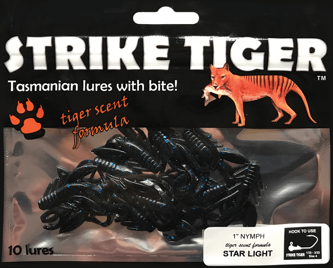 "Strike Tiger 1"" nymph STAR LIGHT"