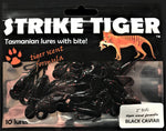 Strike Tiger 2 inch bug Black Caviar