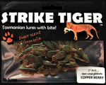 Strike Tiger 2 inch bug Copper Berry