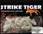 Strike Tiger 2 inch bug Whitebait Pearl