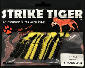 "Strike Tiger 2.5"" t-tail BANANA SPLIT"
