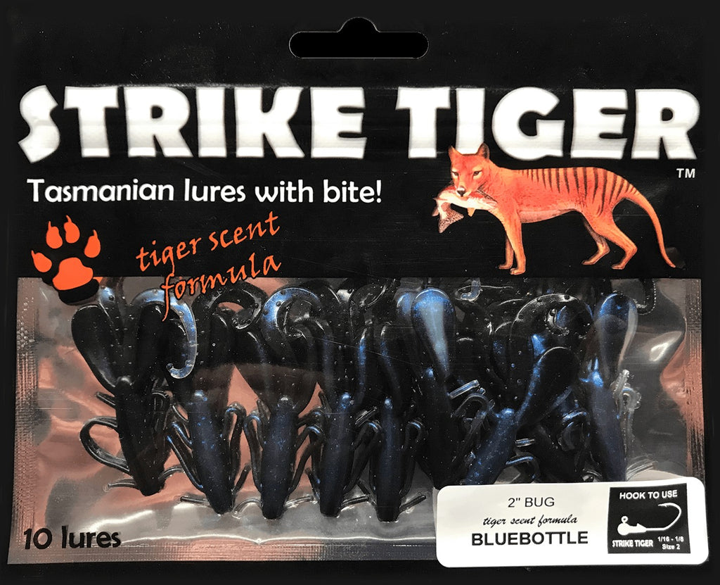 "Strike Tiger 2"" bug BLUEBOTTLE"