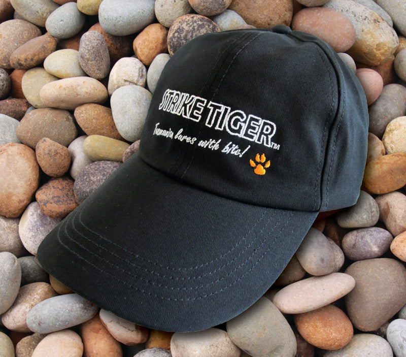 Strike Tiger fishing cap - BLACK