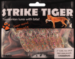 Strike Tiger 2 inch curl tail grub CHAMPERS