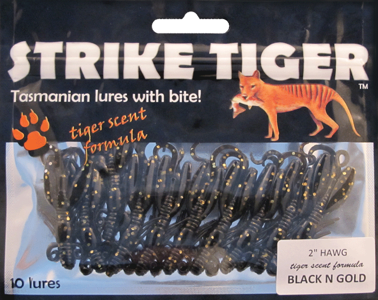 "Strike Tiger 2"" hawg BLACK N GOLD"