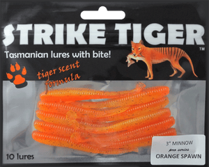 Strike Tiger 3 inch minnow pro series ORANGE SPAWN