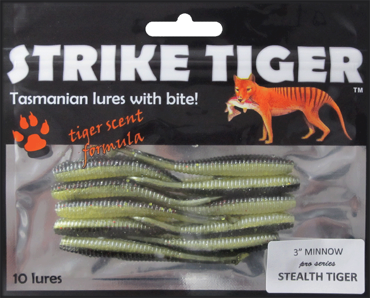 Strike Tiger 3 inch minnow pro series STEALTH TIGER