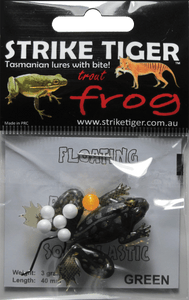 Strike Tiger 1.5 inch trout frog GREEN