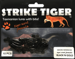 Strike Tiger micro minnow BLACK N GOLD