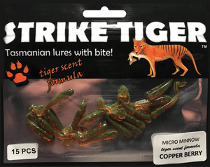 Strike Tiger micro minnow COPPER BERRY