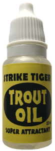 Strike Tiger trout oil (10 ml bottle)