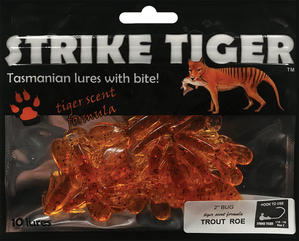 Strike Tiger 2 inch Bug TROUT ROE