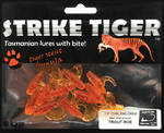 Strike Tiger 1.5 inch curl tail grub TROUT ROE