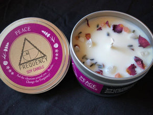 Peace Crystal Soy Candle