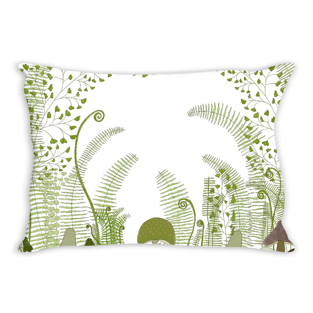 Forest Art Throw Pillow Cover, 14x20