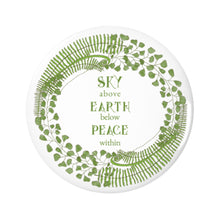 Forest Art Sky Quote Pin-back Button