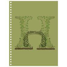 Forest Art Letter H Notebook