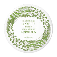 Forest Art Quote Pin-back Button