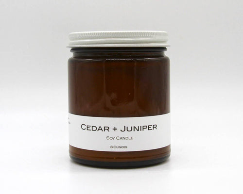 Soy Candle - Cedar and Juniper