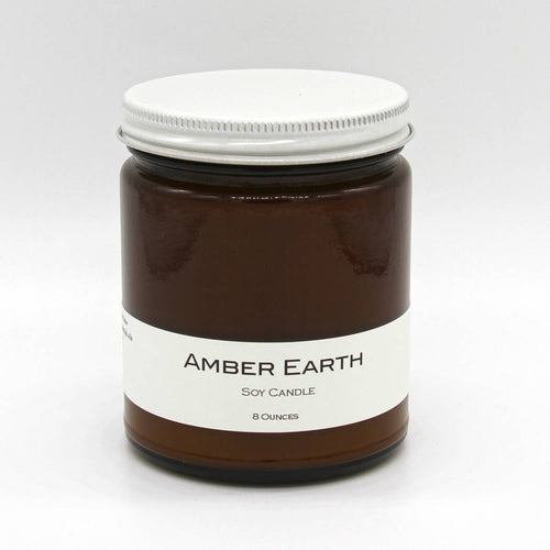 Soy Candle - Amber Earth