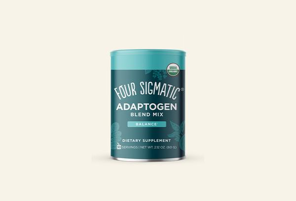 Four Sigmatic's Adaptogen Blend is the perfect combination of adaptogens to help you keep calm and carry on. Mix into coffee, tea, or smoothies for your daily dose of superhero. Go from OMG to OM with one scoop. Earthy and cinnamon-y, each scoop dissolves quickly in coffee, tea, or your favorite smoothie. Heck, we even add it to soups and baked goods. No caffeine, no extra energy added, so you can sip it any time.
