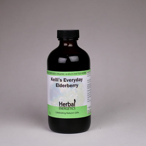 Elderberry is a known anti-viral. Its immune-enhancing properties and high antioxidant content make it an ideal daily supplement. The unique combination in this Elderberry Syrup is effective against viral infections and can significantly shorten the duration of an illness.