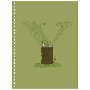 Forest Art Letter Y Notebook