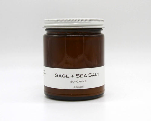 Soy Candle - Sea Salt and Sage