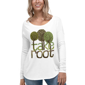 Ladies' Long-Sleeve Take Root Tee